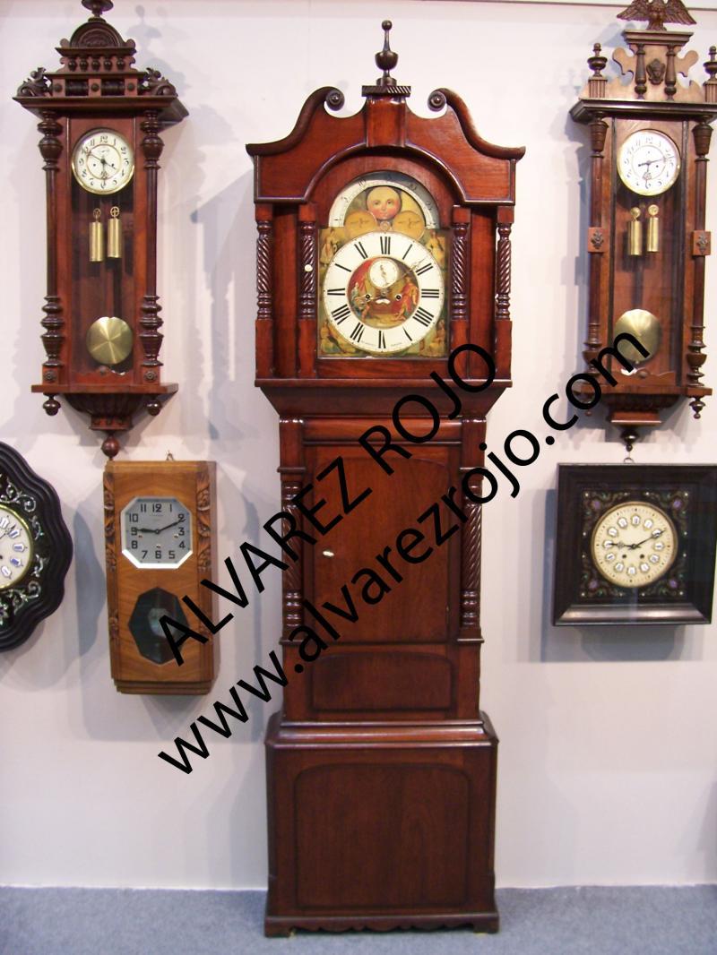 Reloj de pie ingles en relojes de sal n - Relojes de salon modernos ...