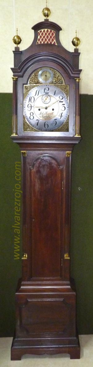 RELOJ DE PIE INGLES, foto ampliada en nueva ventana